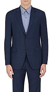 Theory Men's Wellar Wool Two-Button Sportcoat - Navy