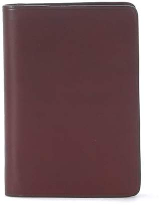 Il Bussetto Red Bordeaux Tuscan Leather Document Holder