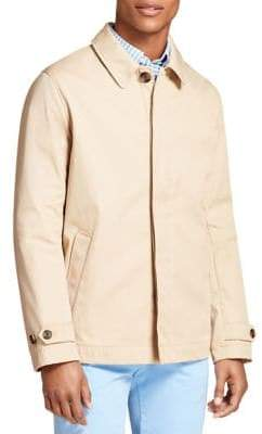 Brooks Brothers Red Fleece Bonded Trench Coat