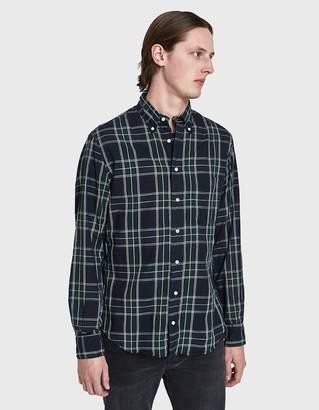Gitman Brothers Spring Blackwatch Cotton/Linen Shirt