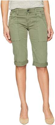 Hudson The Leverage Mid-Rise Cargo Shorts in Forester Women's Shorts