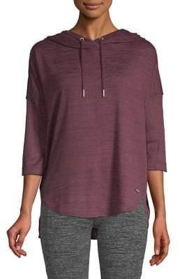 Calvin Klein Marled High-Low Hoodie