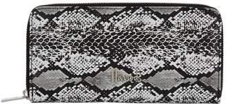 Harrods Matilda Snake Zip-Around Wallet
