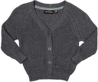 Rock Your Baby Grey Baby Cardigan
