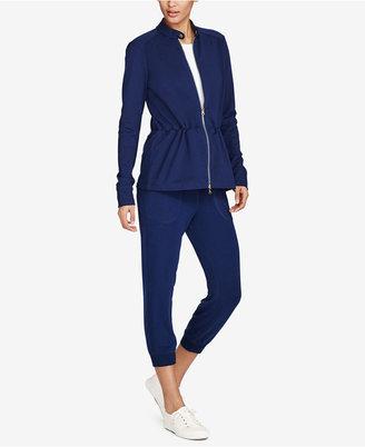 Lauren Ralph Lauren Cropped Skinny Sweatpants $79.50 thestylecure.com
