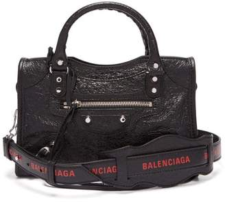 Balenciaga Classic City Mini Bag - Womens - Black Red