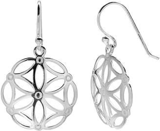 Primrose PRIMROSE Sterling Silver Flower Drop Earrings