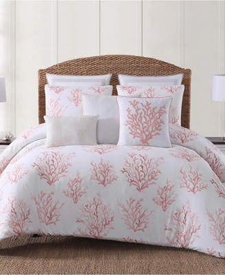 Pem America Oceanfront Resort Cove Coral Printed 2 Piece Twin/Twin XL Comforter Set
