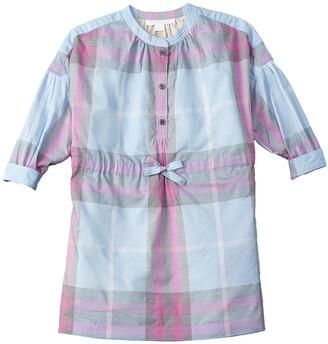 Burberry Girls' Checked Shirtdress