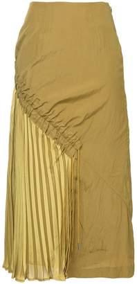 Muller of Yoshio Kubo Muller Of Yoshiokubo side pleats skirt