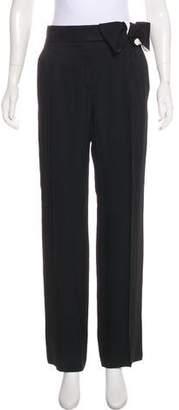 Lanvin High-Rise Wide-Leg Pants