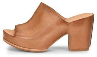 Kork-Ease Ease Leather Wide-Strap Heel
