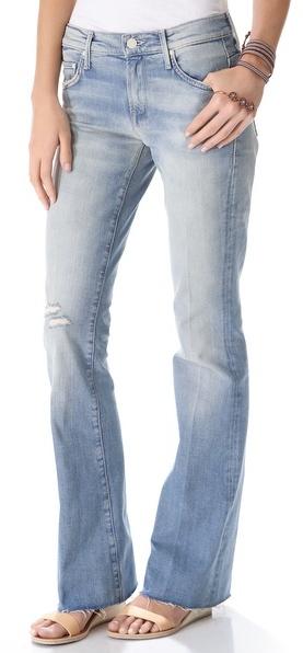 Mother The Slacker Frayed Jeans