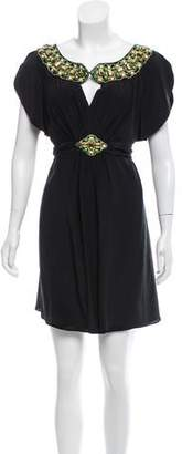 ALICE by Temperley Silk Embellished Dress