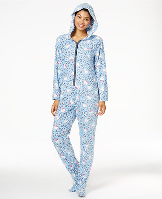 Hello Kitty Cute & Cozy Hooded Footed Jumpsuit $45 thestylecure.com