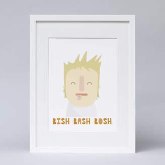 BA&SH Hole in my Pocket 'Bish, Bash, Bosh' Kitchen Print