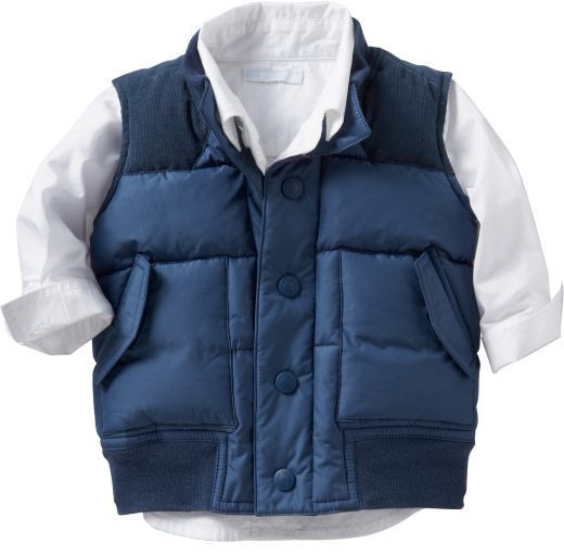 Quilted Vests for Baby