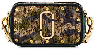 Marc JacobsMarc Jacobs Snapshot Sequined-Camouflage Camera Bag