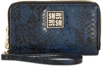 Steve Madden Megan Double Zip Wallet