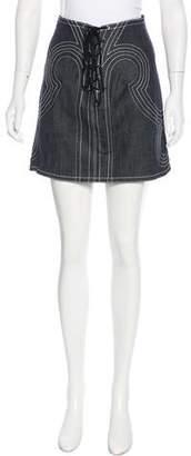 Derek Lam Denim Mini Skirt