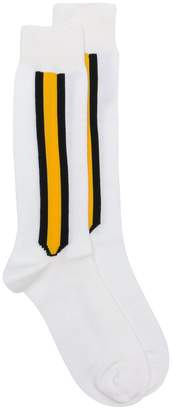 Calvin Klein stripe detail socks