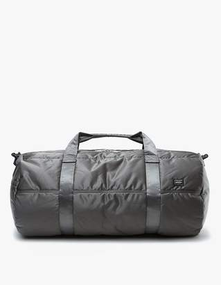 Co Porter Yoshida & Tanker 2Way Boston Bag L in Silver Grey