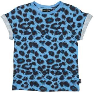 Rock Your Baby Blue Leopard Tee
