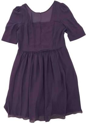 BA&SH Bash Purple Silk Dresses