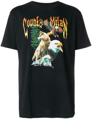 Marcelo Burlon County of Milan animal printed T-shirt