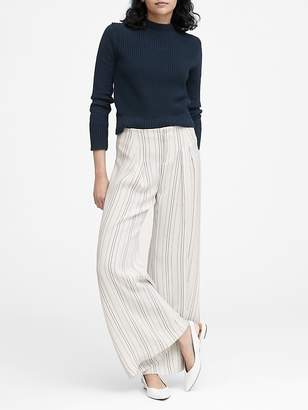 Banana Republic JAPAN EXCLUSIVE Pleated Wide-Leg Pant
