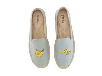 Soludos Banana Embroidered Platform Smoking Slipper Women's Slippers