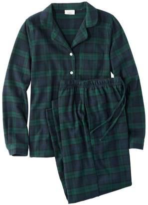 c627a68b4b8369 L.L. Bean L.L.Bean Women s Scotch Plaid Flannel Pajamas