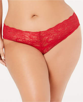 Cosabella Women's Plus Size Never Say Never Lace Thong NEVER0325P