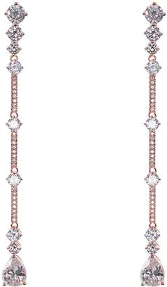 Nina Linear Bar Drop Earrings