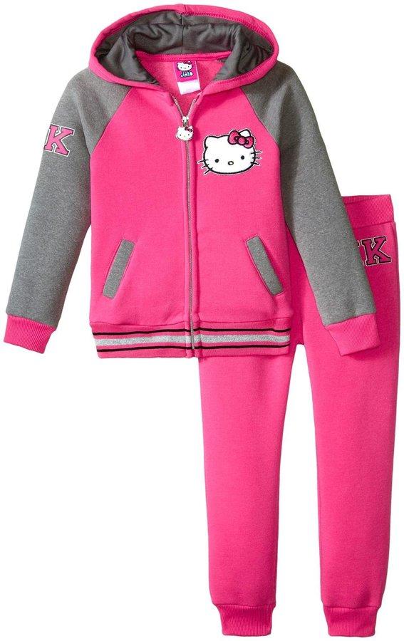 Hello Kitty Varsity Active Set (Toddler/Kid) - Fuchsia Purple - 3T