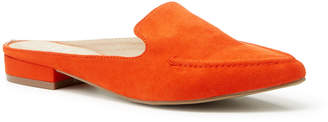 Tu Clothing Orange Pointed Sip On Loafer Mules
