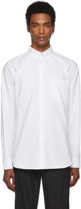 Givenchy White Embroidered Shirt