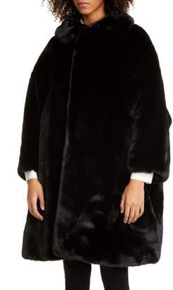 Comme des Garcons Oversize Faux Fur Coat