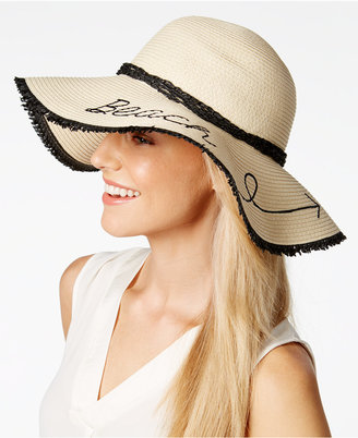 INC International Concepts Beach This Way Floppy Hat, Only at Macy's $32.50 thestylecure.com