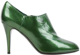 Sergio Rossi Green Patent leather Heels