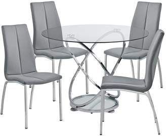 round glass table and chairs shopstyle uk rh shopstyle co uk