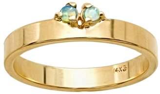 WWAKE Botany Opal Overton Band Ring