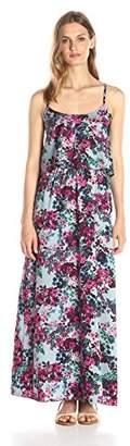 Lark & Ro Women's Tiered Top Maxi Dress