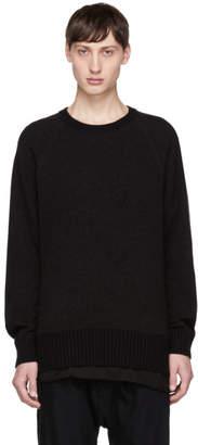 Ziggy Chen Black Cashmere Sweater