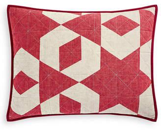 Martha Stewart Collection Geometric Stars Standard Sham