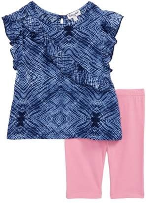 Splendid Ruffle Top & Leggings Set