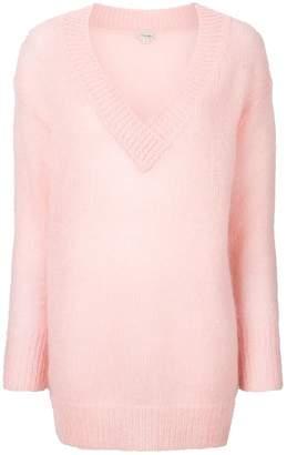 Temperley London Iron Vネックセーター