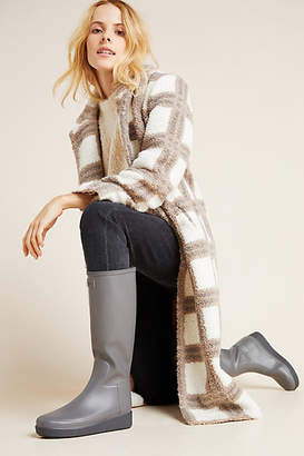 Hunter Boots Refined Tall Platform Rain Boots