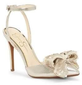 Jessica Simpson Pearlanna Sequin-Bow Sandals