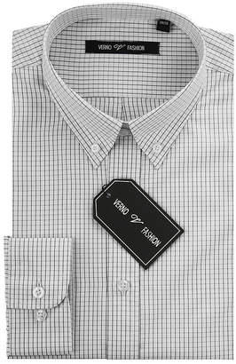 VERNO Verno Men's Slim Fit Dress Shirts